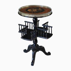 Victorian Ebonized Side Table