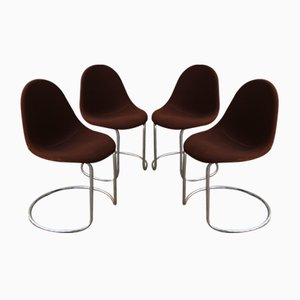 Italian Maia Chairs by Giotto Stoppino for Bernini, 1969, Set of 4