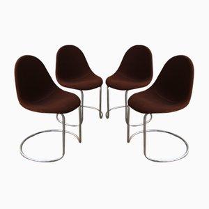 Italienische Maia Chairs von Giotto Stoppino für Bernini, 1969, 4er Set