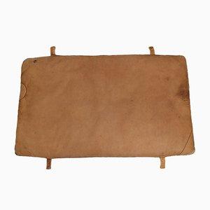 Vintage Turnmatte aus Leder