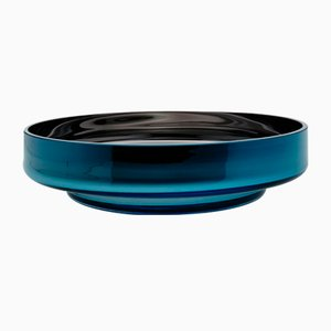 MOON Disk Teal Bowl by Artis Nimanis for an&angel