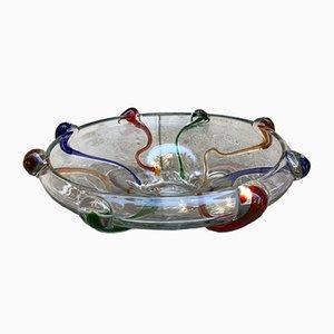 Scodella in vetro di Murano di Sim, anni '60
