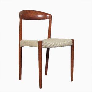 Dänische Mid-Century Teak Chair von Harbo Sølvsten für J.C.A. Jensen / Knud Andersen, 1960er