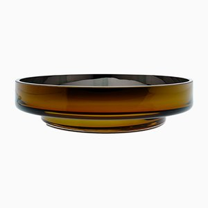 MOON Disk Amber Bowl by Artis Nimanis for an&angel