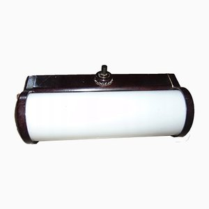 Lampada da parete vintage in bachelite, anni '40