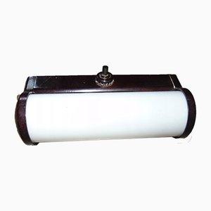 Vintage Bakelite Wall Lamp, 1940s