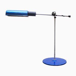 Lámpara de escritorio articulada industrial de Veneta Lumi, años 80