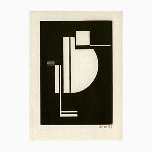Gravure sur Bois par Walter Dexel pour Panderma, 1977