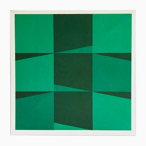 Silkscreen Print by Joachim Albrecht for Panderma, 1977