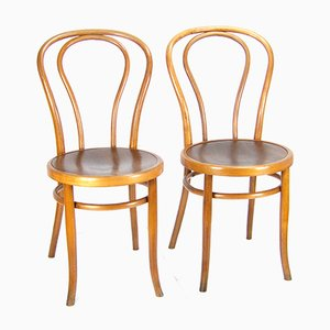 Viennese No. 18 Chair from Thonet, 1900s, Set of 2