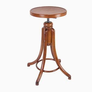 Viennese High Stool from Thonet, 1910s