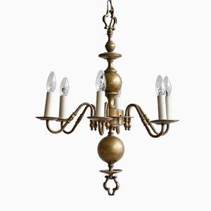 Lámpara de araña flamenca vintage