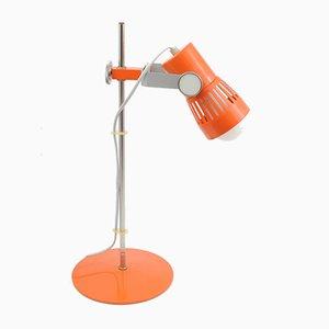 Orangefarbene Tischlampe von Pavel Grus für Kamenický Šenov, 1970er