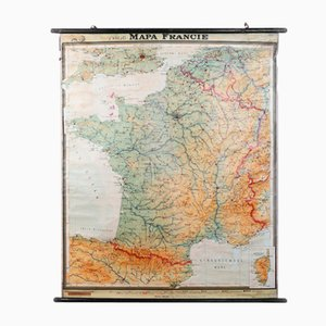 Französische Vintage Karte von J.Krejci für Logia, 1927