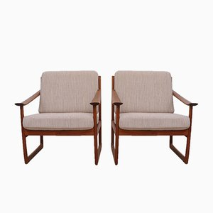 FD-130 Armchairs by Peter Hvidt & Orla Mølgaard-Nielsen for France & Søn, Set of 2