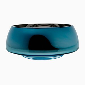 DECO Jazz Large Teal Bowl by Artis Nimanis for an&angel