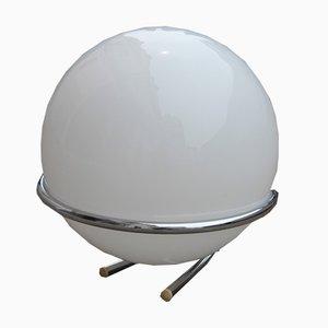 Lámpara de mesa italiana en forma de globo, años 70