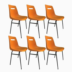 Model M4 Chairs from Grofillex, 1970s, Set of 6