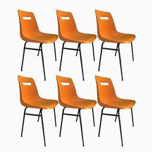 Modell M4 Stühle von Grofillex, 1970er, 6er Set