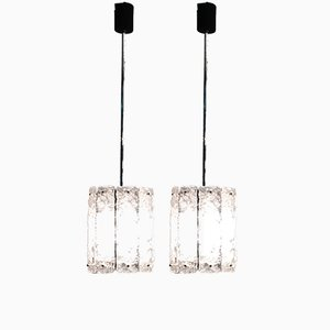 Mid-Century Pendant Lamps, Set of 2