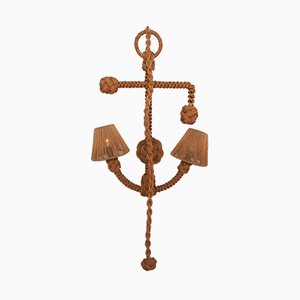 Vintage Anchor Rope Sconce by Adrien Audoux & Frida Minet