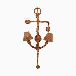 Vintage Anker und Seil Wandlampe von Adrien Audoux & Frida Minet