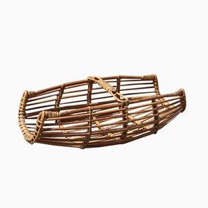 Revistero italiano de bambú de Bonacina, años 50