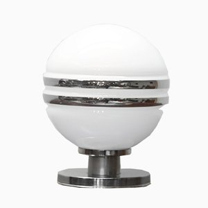 Space Age Glass Table Lamp, 1970s