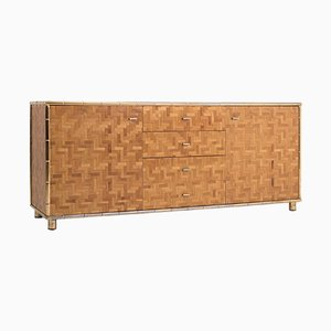 Hollywood Regency Bamboo Sideboard