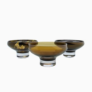DECO Dessert Amber Bowl by Artis Nimanis for an&angel