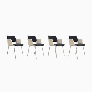 Model 2225 Dining Chairs by André Cordemeyer for Gispen, 1960s, Set of 4