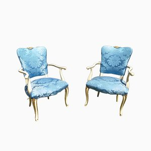 Victorian Liberty Armchairs, Set of 2