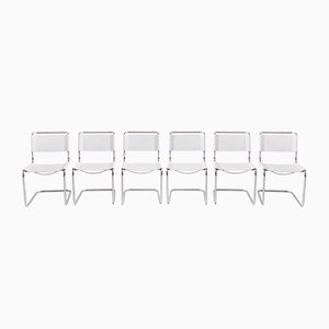 Cantilever Chairs by Mart Stam for Thonet, 1980s, Set of 6