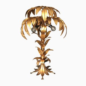 Vintage Palm Tree Lamp by Hans Kogl
