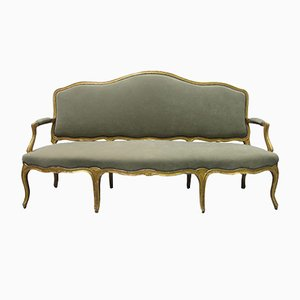 Antique French Gilded Sofa