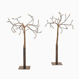 Vintage Sottovento 21 Tree Floor Lamp by Enzo Catellani for Catellani & Smith