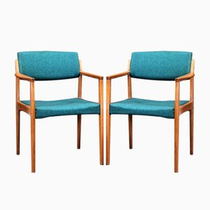 Mid-Century Armchairs by H. W. Klein for Bramin, 1960s, Set of 2