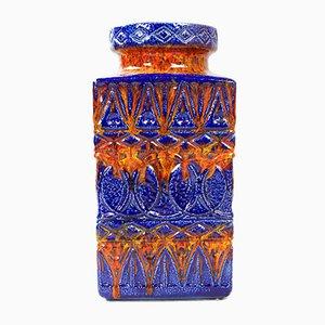 Large Ceramic Floor Vase by Bodo Mans for Bay Keramik, 1960s