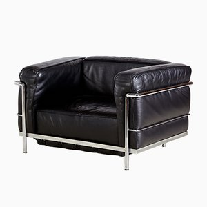 Vintage LC3 Armchair by Le Corbusier for Cassina