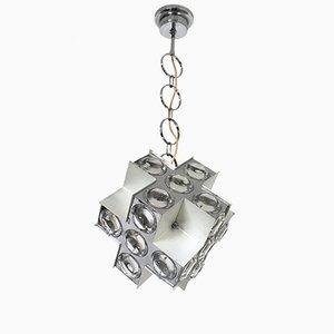 Lámpara colgante italiana de Oscar Torlasco para de Stilkronen, años 60
