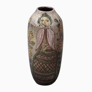 Mid-Century Glazed Ceramic Vase, 1960s