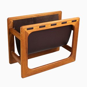 Vintage Magazine Rack from Salin, 1970s