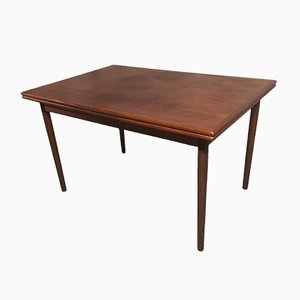 Mid-Century Extendable Teak Dining Table, 1960s
