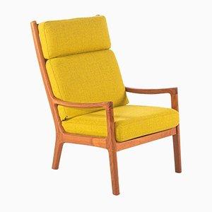 Sedia in teak di Ole Wanscher per Poul Jeppesen, anni '60