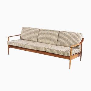 Sofá de tres plazas de Walter Knoll, años 60