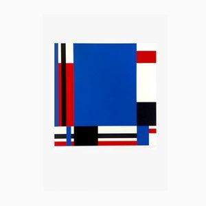 Sérigraphie sur Papier Variation 78 par Jo Niemeyer pour Partanen, 1988