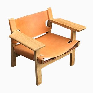 Mid-Century Danish The Spanish Chair by Børge Mogensen