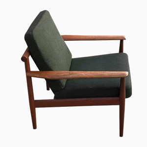 Mid-Century Teak Lounge Chair by Grete Jalk
