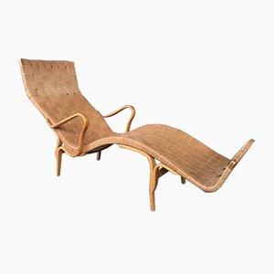 Chaise longue in compensato di Bruno Mathsson, anni '60