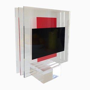 Escultura Puna de plexiglás de Jo Niemeyer para Partanen, 1994